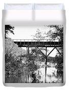 Civil War: Foot Bridge Duvet Cover