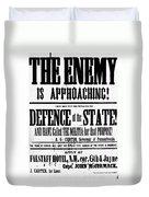 Civil War: Lees Campaign Duvet Cover
