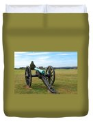 Civil War Lone Canon  Duvet Cover