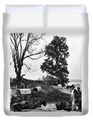 Civil War: Supply Base, 1864 Duvet Cover
