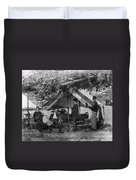 Civil War: Union Camp Duvet Cover
