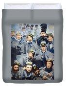 Civil War: Volunteers, 1861 Duvet Cover