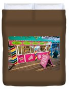 Clacton Pier Shop Duvet Cover