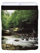 Clare River, Clare Glens, Co Tipperary Duvet Cover