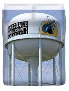 Clarksdale Water Tower Duvet Cover