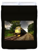 Class 33 At Bishop Auckland Duvet Cover