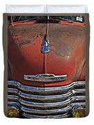 Classic 50s Chevy Duvet Cover