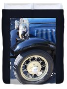 Classic Antique Car- Roaring Twenties - Detail Duvet Cover