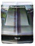 Classic Camaro Ss Hood Cowl Duvet Cover
