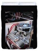 Classic Car Engine Duvet Cover