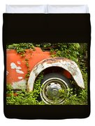 Classic Car Forgotten Duvet Cover