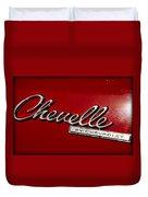 Classic Chevelle Duvet Cover