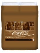 Classic Coke Work B Duvet Cover