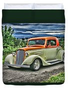 Classic Ford Hdr Duvet Cover