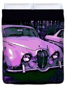 Classic In Pink Duvet Cover