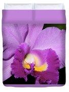 Classic Purple Orchid Duvet Cover