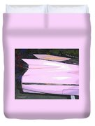 Classic Tails - Pink 1959 Cadillac Duvet Cover