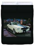 Classy Mustang Duvet Cover