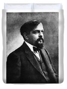 Claude Debussy, French Composer Duvet Cover by Photo Researchers