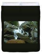 Clear Creek Falls Duvet Cover