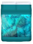 Clear Water 3 Ionian Sea Series Duvet Cover