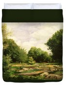 Clearing In The Woods Duvet Cover