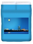 Clearwater At Night Duvet Cover