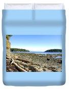 Cliff And Beach Duvet Cover