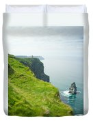 Cliff Of Moher 24 Duvet Cover