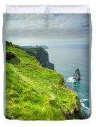 Cliff Of Moher 25 Duvet Cover