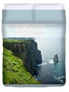 Cliff Of Moher 28 Duvet Cover