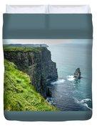 Cliff Of Moher 29 Duvet Cover