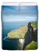 Cliff Of Moher 30 Duvet Cover