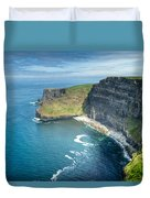 Cliff Of Moher 32 Duvet Cover