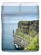 Cliff Of Moher 35 Duvet Cover