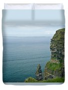 cliffs of Moher 36 Duvet Cover