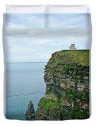 cliffs of Moher 37 Duvet Cover