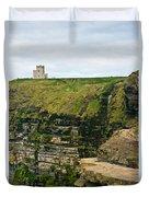 cliffs of Moher 38 Duvet Cover