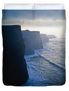 Cliffs Of Moher,co Clare,irelandview Of Duvet Cover