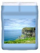 Cliffts Of Moher 1 Duvet Cover