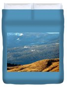 Climbing Skyward Duvet Cover by Will Borden