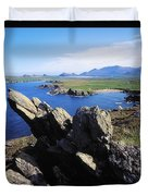 Clogherhead, Co Kerry, Dingle Duvet Cover