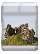 Clonmacnoise Castle Ruin - Ireland Duvet Cover