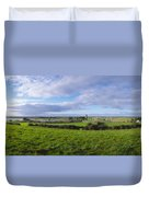 Clonmacnoise, Co Offaly, Ireland Duvet Cover