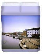 Cloondara, Co Longford, Ireland Town At Duvet Cover