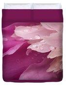 Close-up Of Pink Flower Duvet Cover