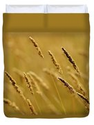 Close-up Of Wheat Duvet Cover