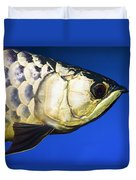 Closeup Of A Fish Duvet Cover
