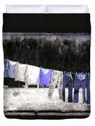 Clothesline  Duvet Cover