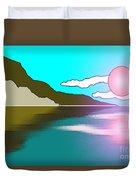 Clouded Sunrise Duvet Cover